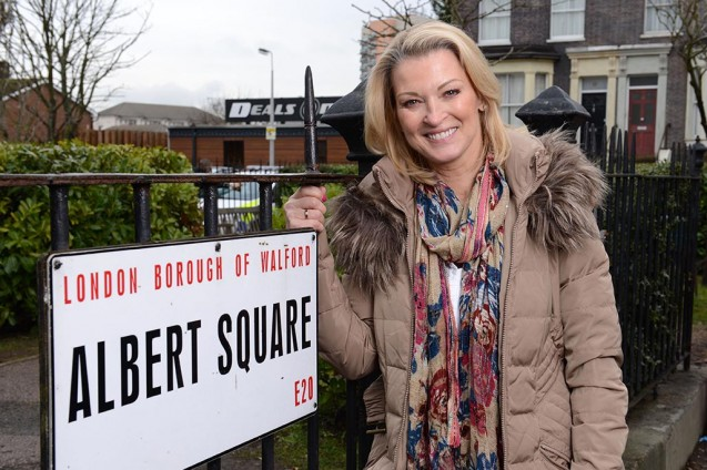 Programme Name: EastEnders - TX: 19/02/2015 - Episode: 5017 (No. n/a) - Picture Shows: GILLIAN TAYLFORTH.  Kathy Beale (GILLIAN TAYLFORTH) - (C) BBC - Photographer: Kieron McCarron