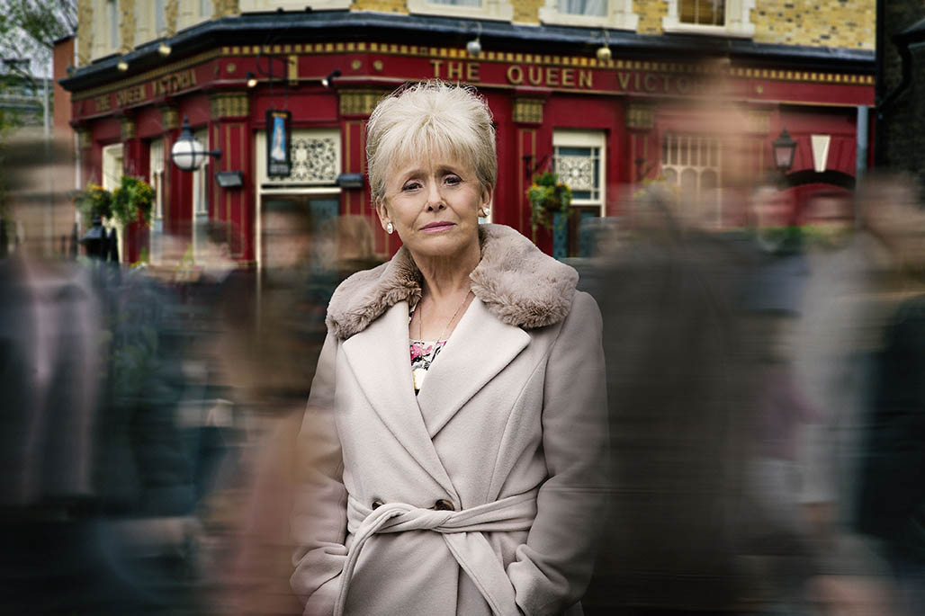 Programme Name: EastEnders - TX: 18/04/2016 - Episode: EastEnders - Peggy Mitchell (No. n/a) - Picture Shows:  Peggy Mitchell (BARBARA WINDSOR) - (C) BBC - Photographer: Guy Levy